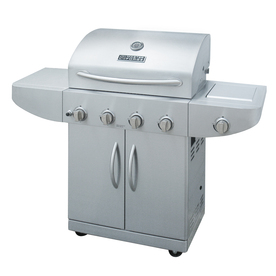 Master Forge 4-Burner (48000 BTU) Natural Gas or Liquid Propane Gas Grill
