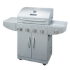 Master Forge 4-Burner (48000 BTU) Liquid Propane Gas Grill with Side Burner