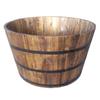 Garden Treasures 23.62-in x 14-in Brown Wood Traditional Barrel