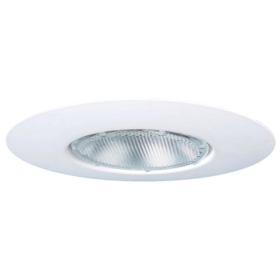Recessed Lighting Utilitech : Utilitech white open recessed light trim fits