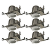 Utilitech Aluminum New Construction Recessed Light Kit (Fits Opening: 6-in)