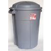 INCREDIBLE Plastics 35-Gallon Outdoor Trash Can