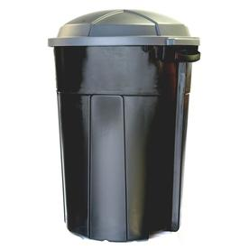 INCREDIBLE Plastics 32-Gallon Outdoor Garbage Can