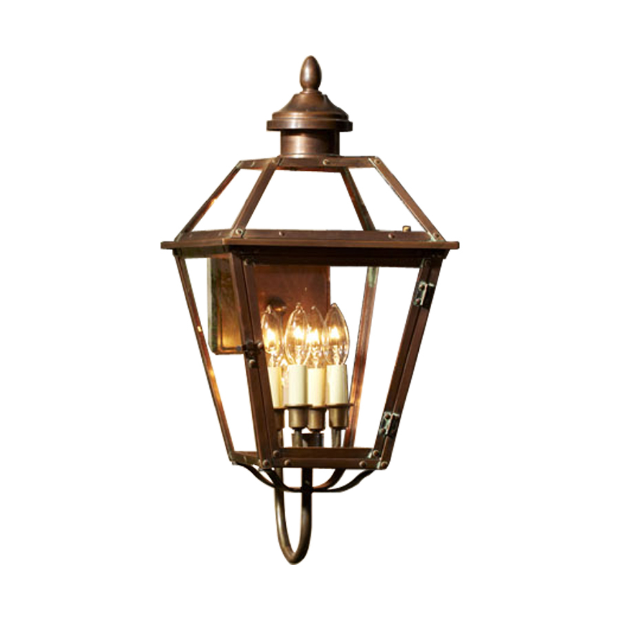 allen roth new vineyard h antique copper outdoor wall light. Black Bedroom Furniture Sets. Home Design Ideas