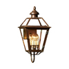 allen + roth New Vineyard 23.25-in H Antique Copper Outdoor Wall Light