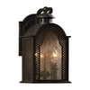 allen + roth Kingfield- Cage 17-in H Oil-Rubbed Bronze Outdoor Wall Light
