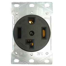shop utilitech 30 amp flush mount dryer appliance