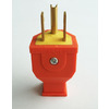 Project Source 15-Amp 125-Volt Orange 3-Wire Grounding Plug