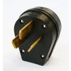 Utilitech 50-Amp 125/250-Volt Black 3-Wire Plug