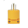 Utilitech 15-Amp 125-Volt Yellow 3-Wire Grounding Plug