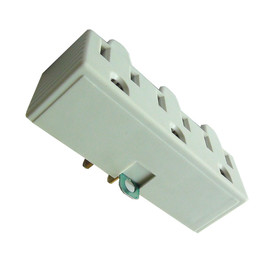 Project Source Single-to-Triple Ivory 2-Wire to 3-Wire Adapter