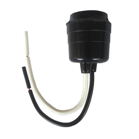 Project Source 7.24-in Black Hanging Light Socket