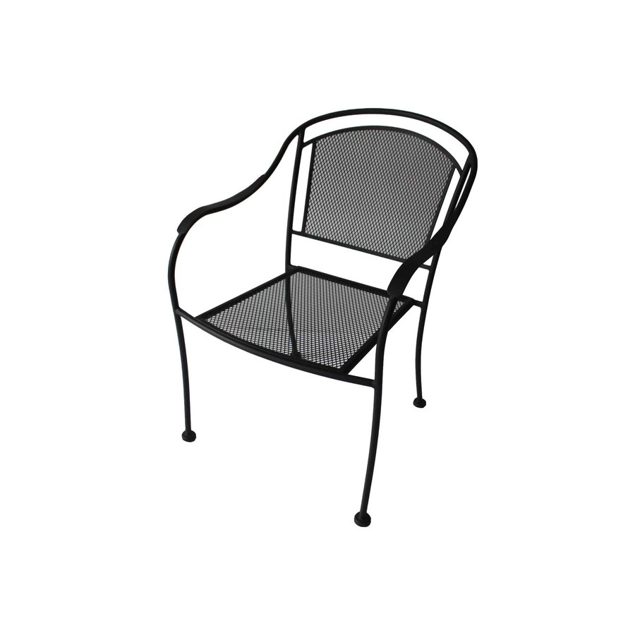 black modern itm chair outdoor chairs veranda patio metal wire filigree