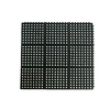 Blue Hawk Black Rectangular Door Mat (Common: 36-in x 36-in; Actual: 36-in x 36-in)