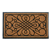 "Style Selections 24"" x 39"" Rubber Scroll Estate Door Mat"
