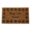 "Style Selections 18"" x 30"" Wipe Your Paws Door Mat"