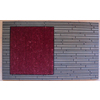 Style Selections 29.4-in x 17.6-in Choco Rectangle Door Mat