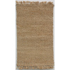 allen + roth 5-ft x 7-ft Rectangular Beige Solid Area Rug