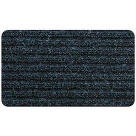 Blue Hawk Charcoal Rectangular Door Mat (Common: 24-in x 36-in; Actual: 24-in x 36-in)