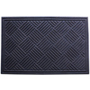 Blue Hawk 35.5-in x 24-in Walnut Rectangular Door Mat