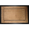 allen + roth Natural Black Rectangular Door Mat (Common: 24-in x 36-in; Actual: 23.5-in x 35.5-in)