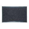 Blue Hawk Charcoal Rectangular Door Mat (Common: 48-in x 72-in; Actual: 48-in x 72-in)