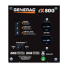 Generac iX 800-Running Watts Inverter Portable Generator