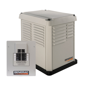 Centurion by Generac Power Systems 7000 Watts (LP)/6000 Watts (NG) Standby Generator with Automatic Transfer Switch
