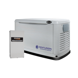 Centurion by Generac Power Systems 20000 Watts (LP)/18000 Watts (NG) Standby Generator with Automatic Transfer Switch