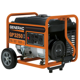 Generac Gp 3250 Running Watts Portable Generator