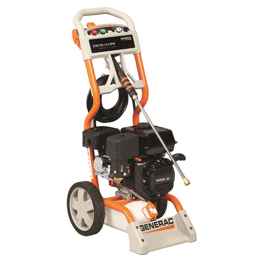 Shop Generac 2700-PSI 2.3-GPM Gas Pressure Washer with Generac Engine at Lowes.com
