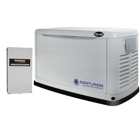 Centurion by Generac Power Systems 10000 Watts (LP)/9000 Watts (NG) Standby Generator with Automatic Transfer Switch