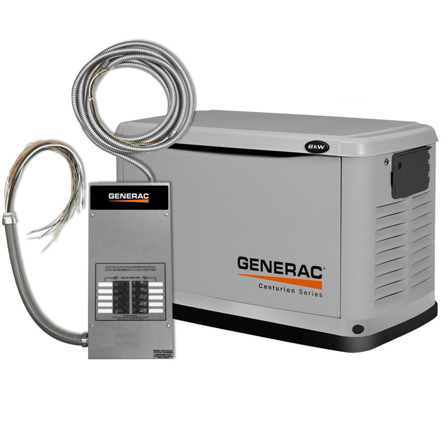 with Generac Engine and Automatic Transfer Switch at Lowes.com