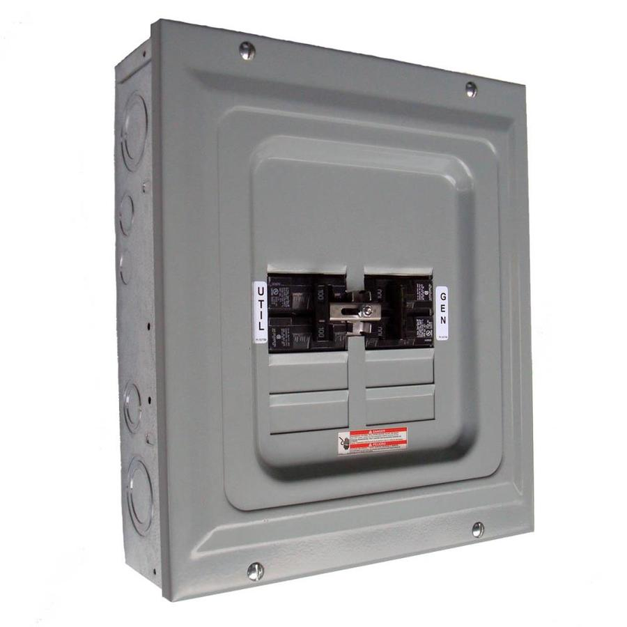 Shop Generac 100-Amp Single-Load Manual Transfer Switch at Lowes.com