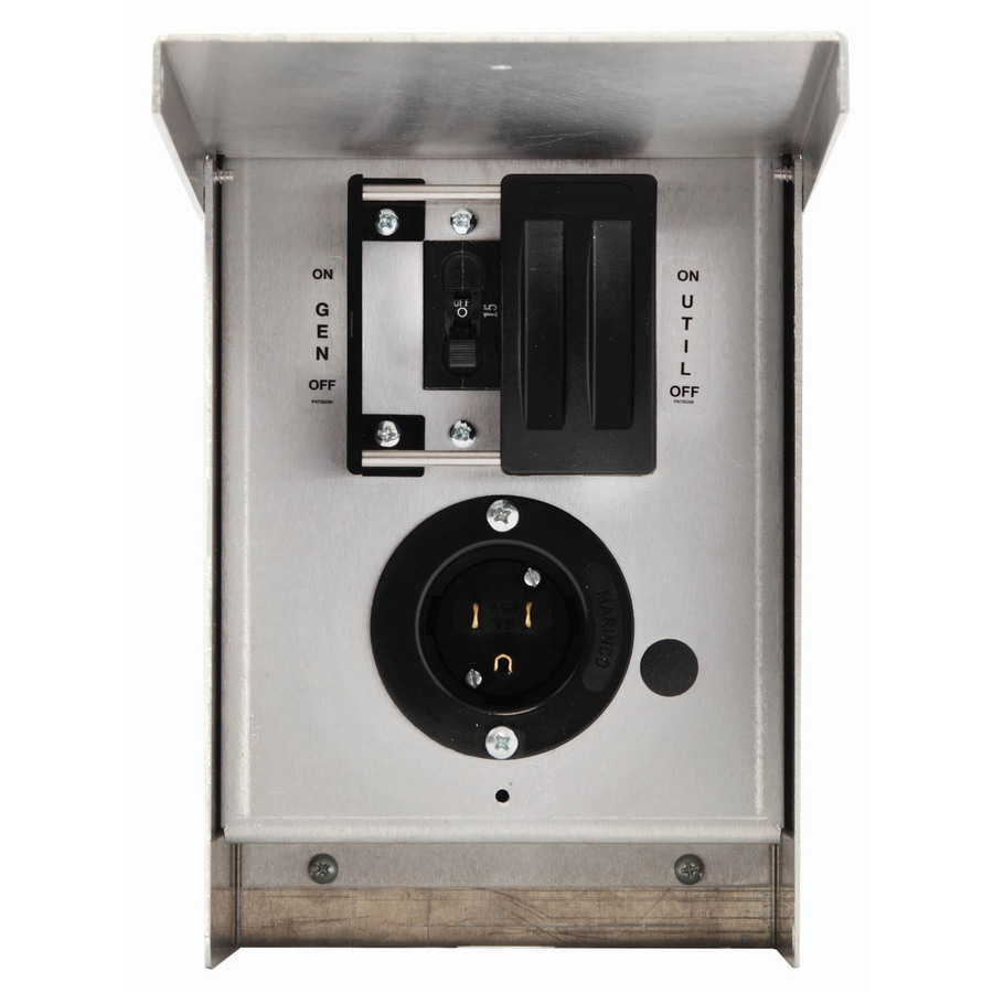 Shop Generac 15-Amp Single Circuit Manual Transfer Switch at Lowes.com