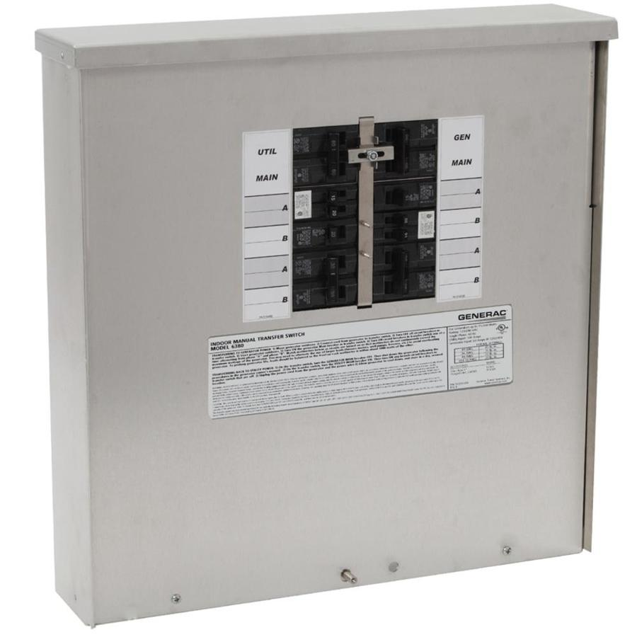 Shop Generac 200-Amp Manual Transfer Switch at Lowes.com