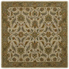 Kaleen Tara2 7-ft 9-in x 7-ft 9-in Square Beige Floral Area Rug