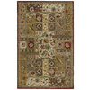 Kaleen Khazana 7-ft 6-in x 9-ft Rectangular Red Floral Area Rug