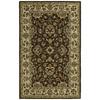 Kaleen Khazana Rectangular Brown Floral Tufted Wool Area Rug (Common: 3-ft x 5-ft; Actual: 3-ft x 5-ft)