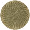 Kaleen Tara Yellow Round Indoor Tufted Area Rug (Common: 4 x 4; Actual: 45-in W x 45-in L)