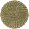 Kaleen Tara 5-ft 9-in x 5-ft 9-in Round Yellow Floral Area Rug