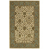 Kaleen Khazana 27-in x 7-ft 6-in Rectangular Beige Floral Area Rug