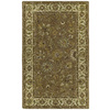 Kaleen Khazana 27-in x 7-ft 6-in Rectangular Brown Floral Area Rug
