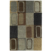 Kaleen Khazana 5-ft x 7-ft 9-in Rectangular Brown Floral Area Rug