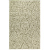Kaleen Khazana 7-ft 6-in x 9-ft Rectangular Beige Floral Area Rug