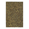 Kaleen Home and Porch 36-in x 60-in Rectangular Tan Floral Accent Rug