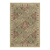 Kaleen Home and Porch 36-in x 60-in Rectangular Beige Floral Accent Rug