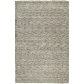 Kaleen Regale 8-ft x 11-ft Rectangular Gray Solid Area Rug