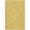 Kaleen Regale 36-in x 5-ft Rectangular Yellow Solid Area Rug