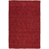 Kaleen Regale 5-ft x 7-ft 6-in Rectangular Red Solid Area Rug